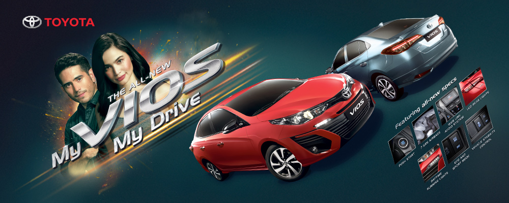 THE ALL-NEW MY VIOS, MY DRIVE