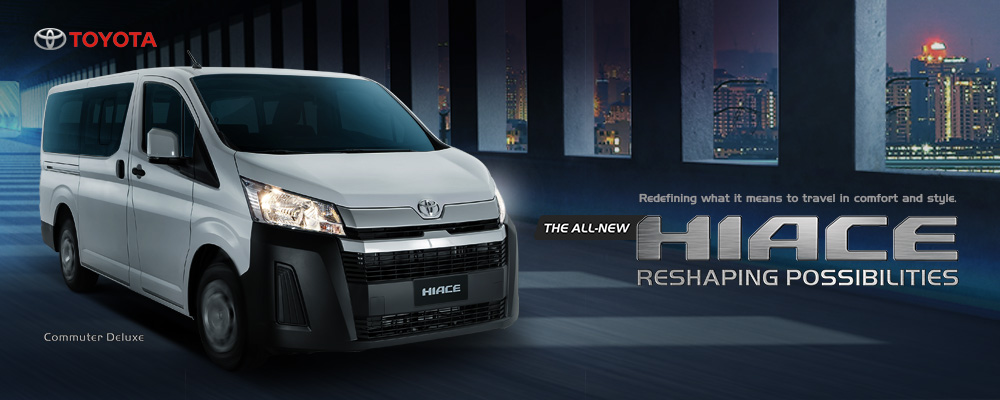 The all-new Hiace