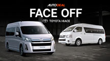Face-Off: Old vs All-New Toyota Hiace