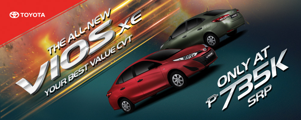 The all-new Vios XE