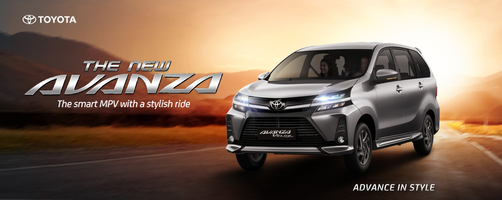 Introducing the new Toyota Avanza