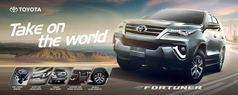 Toyota Fortuner, the country's best-selling SUV