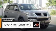 Toyota Fortuner 4x4 V - AutoDeal Unboxing