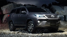 Nationwide promos for the Toyota Fortuner