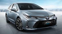 Nationwide promos for the Toyota Corolla Altis