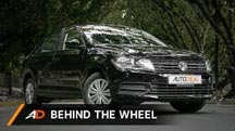 Behind the Wheel on the Volkswagen Santana