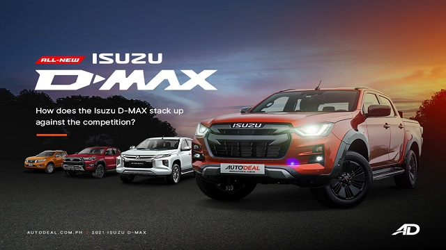 How does the 2021 Isuzu D-MAX stack up against the competition?