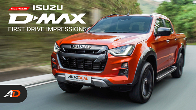 2021 Isuzu D-MAX Launch and First Impressions - Behind a Desk