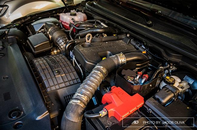 2.0-liter Biturbo diesel engine
