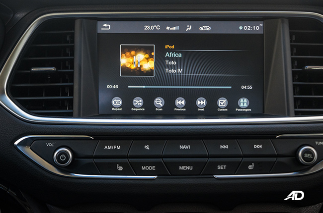 2018 GAC GS4 infotainment