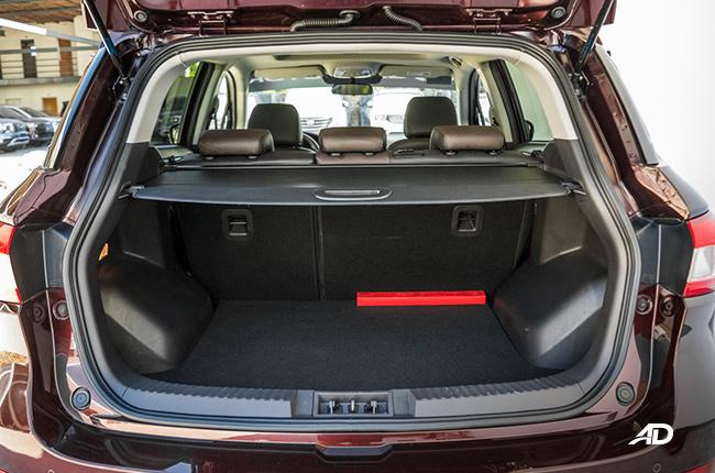 2018 GAC GS4 trunk
