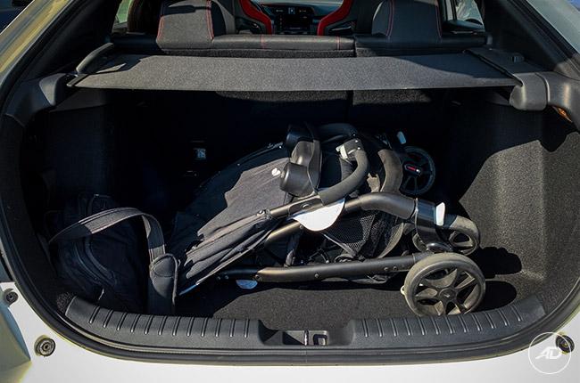 2018 Honda Civic Type R cargo