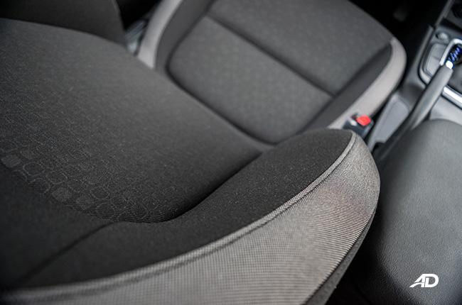 2018 Hyundai Kona seats