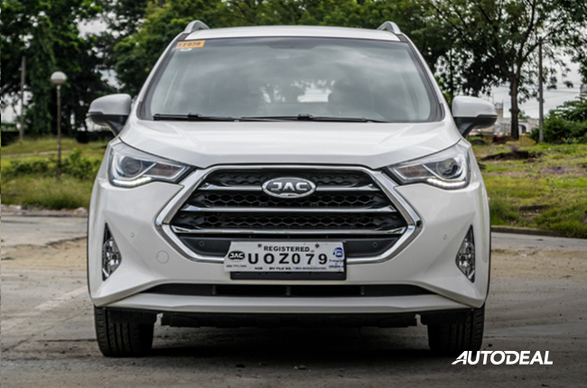 2018 JAC S3 philippines front