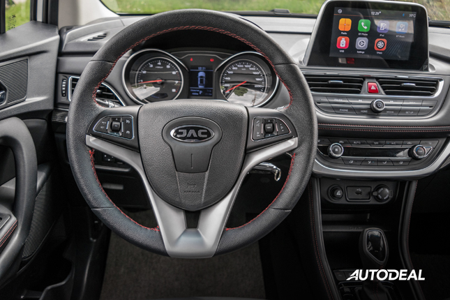 2018 JAC S3 steering wheel