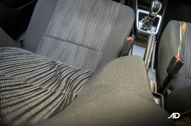 2018 Suzuki Dzire interior