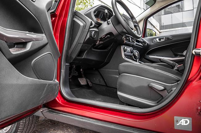 2019 Ford EcoSport 1.5 Trend interior philippines