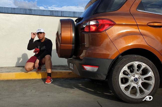2019 Ford EcoSport rear