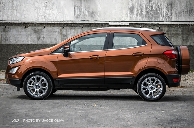2019 Ford EcoSport Titanium side