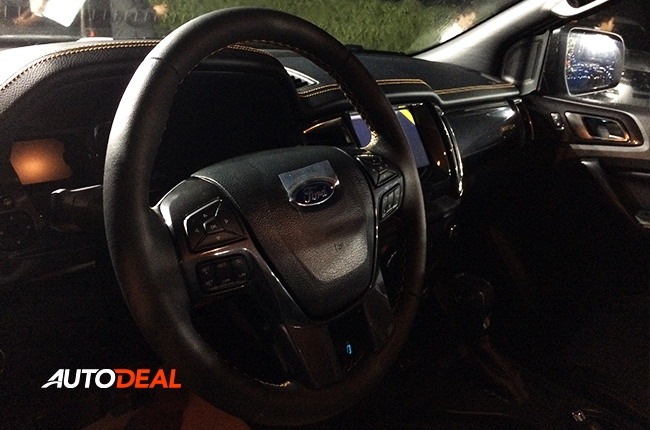 2019 Ford Ranger Launch Philippines Steering Wheel