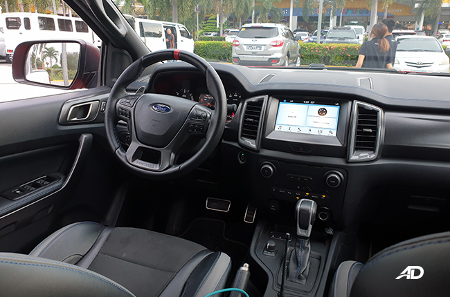 2019 Ford Ranger Raptor Interior