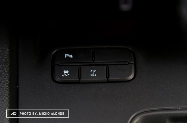 2019 Ford Ranger Wildtrak 2.0 Driving Controls