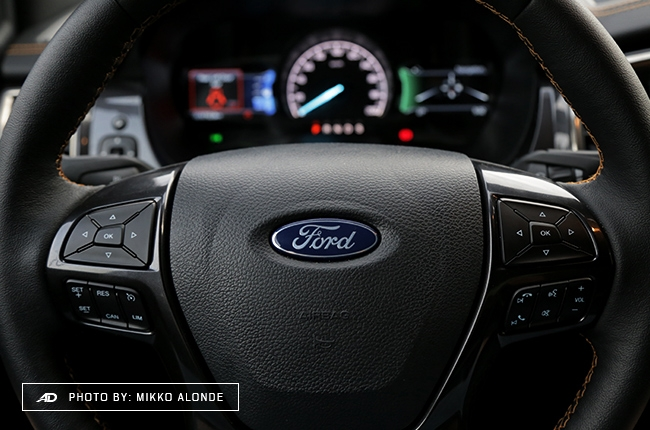 2019 Ford Ranger Wildtrak 2.0 Single-Turbo Steering Wheel 1