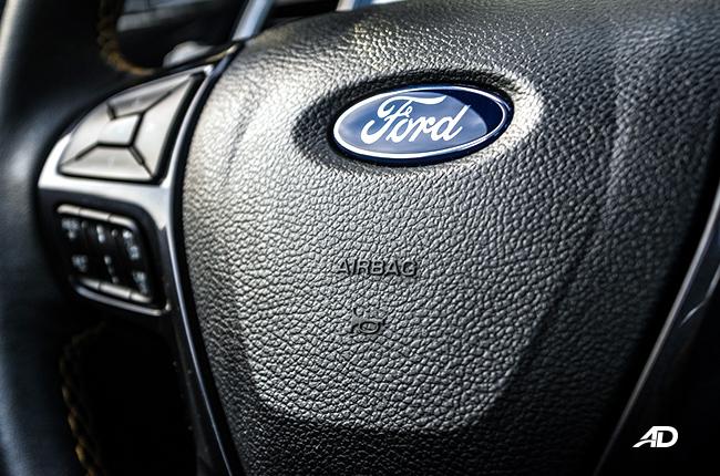 2019 Ford Ranger Wildtrak Biturbo airbag