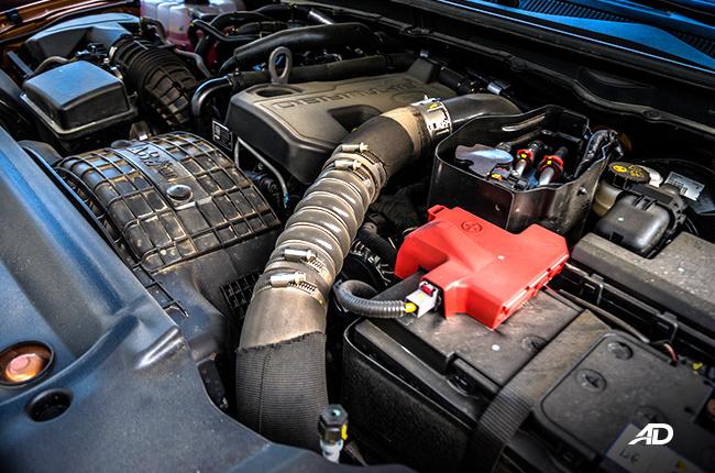 2019 Ford Ranger Wildtrak Biturbo engine