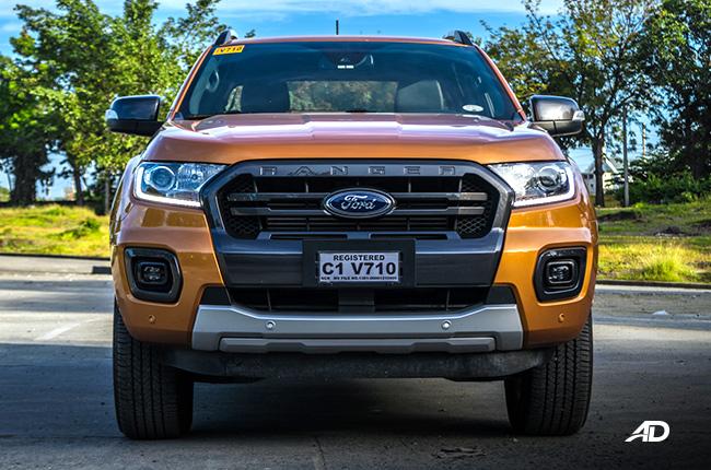 2019 Ford Ranger Wildtrak Biturbo front