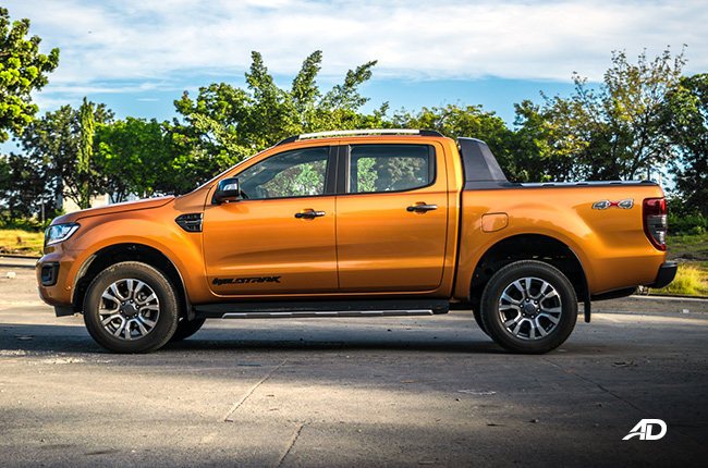 2019 Ford Ranger Wildtrak Biturbo side