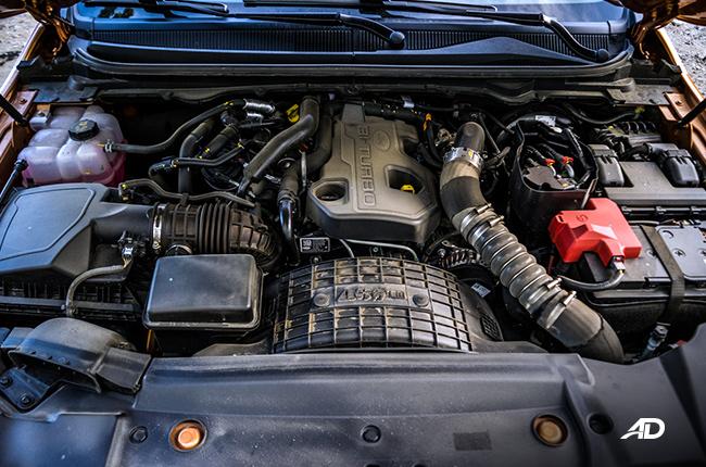 2019 Ford Ranger Wildtrak engine