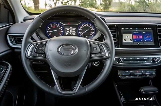 2019 GA4 steering wheel
