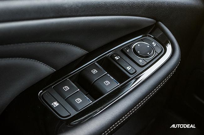 2019 GAC GA4 door buttons