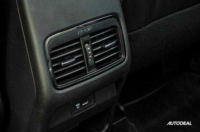 2019 GAC GA4 rear vents