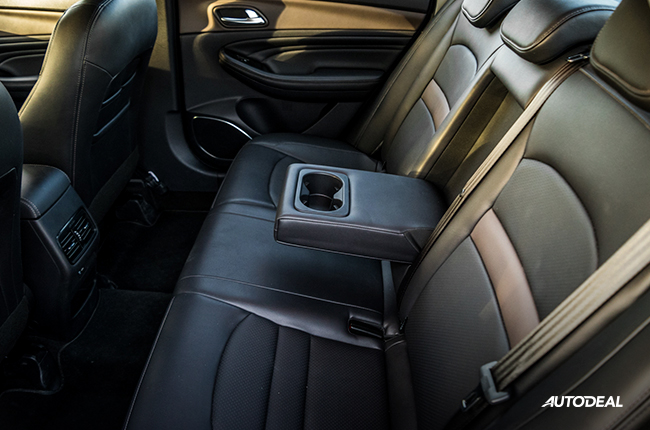 2019 GAC GA4 Review rear seats