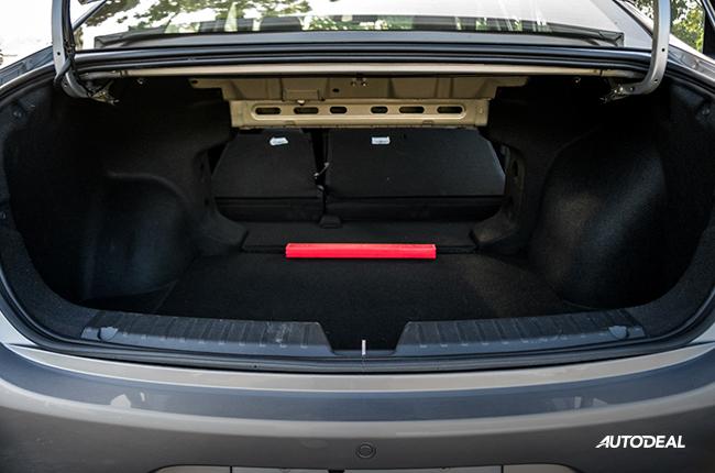 2019 GAC GA4 trunk folded