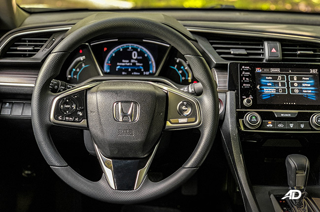 2019 Hond Civic 1.8 Interior Philippines