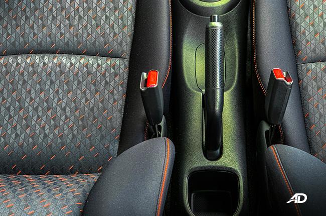 2019 Honda Brio interior