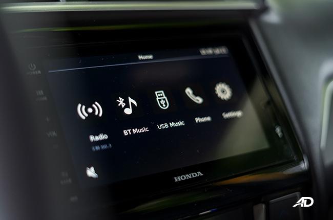 2019 honda brio touchscreen