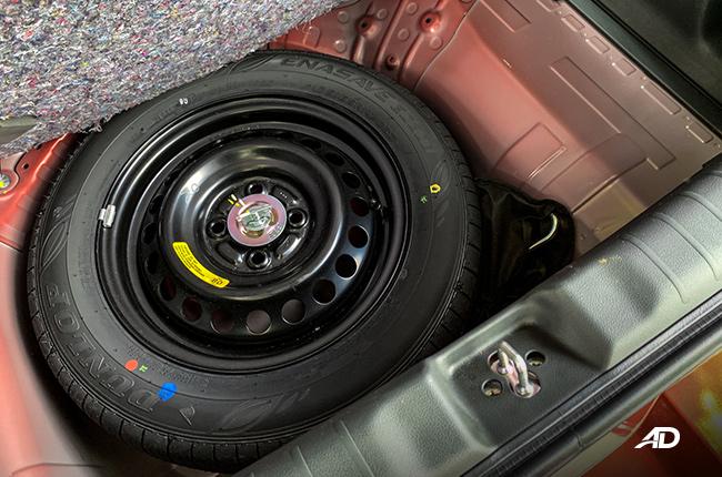 2019 Honda Brio trunk