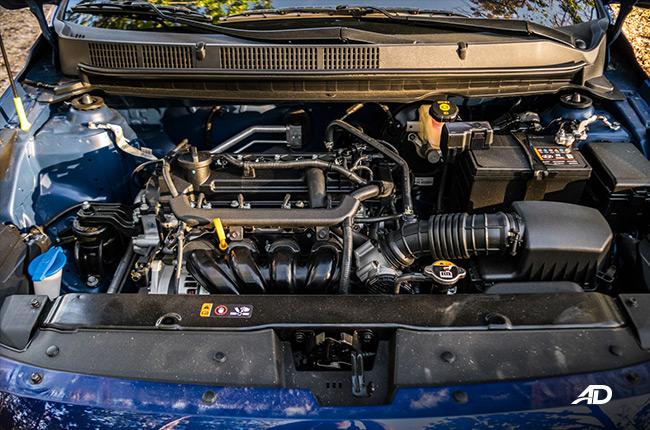 2019 Hyundai Reina engine
