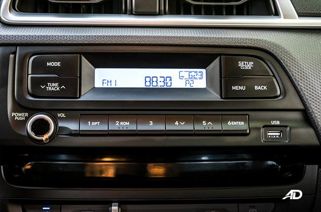 2019 Hyundai Reina technology