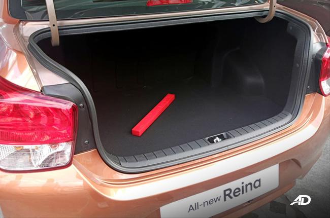 2019 Hyundai Reina trunk