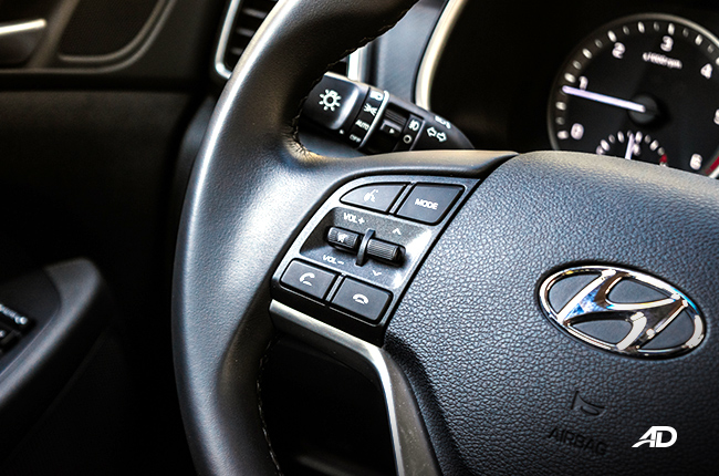 2019 Hyundai Tucson audio controls