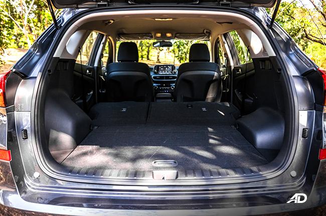 2019 Hyundai Tucson cargo