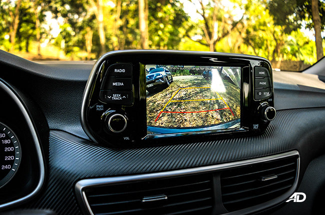 2019 Hyundai Tucson parking camera