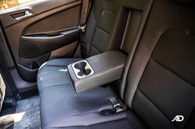 2019 Hyundai Tucson rear seats