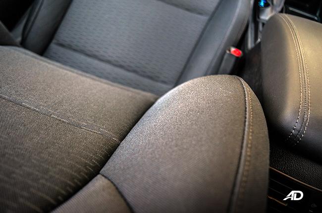 2019 Hyundai Tucson seats