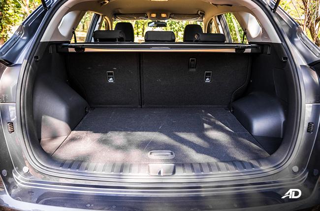2019 Hyundai Tucson trunk